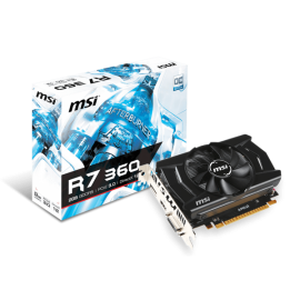 MSI R7 360 2GD5 OCV1 Graphic Card