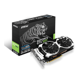 MSI GTX 960 2GD5T OC Graphic Card