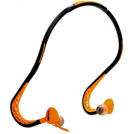 Remax RM-S15 Orange Sports Wired Headphones