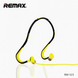 Remax RM-S15 Green Sports Wired Headphones