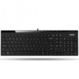 Rapoo keyboard  black Wired N7000   کیبورد