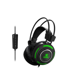 Rapoo VH200 Illuminated Gaming Headset هدفون