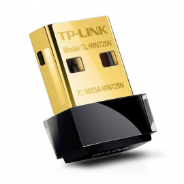 TP-Link 150Mbps Wireless N Nano USB Adapter TL-WN725N کارت شبکه بی سیم