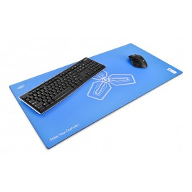 Deepcool D-Pad Massive Mouse Pad 800x400x4mm, Blue D-PAD پد