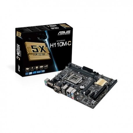 MotherBoard ASUS H110M-C مادر برد ایسوس