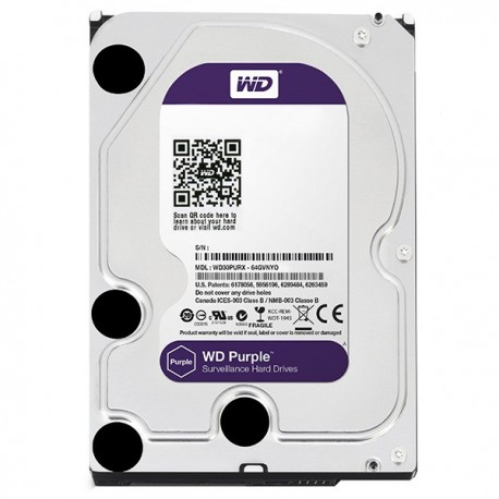 Hard Disk Western Digital Purple 6TB 64MB