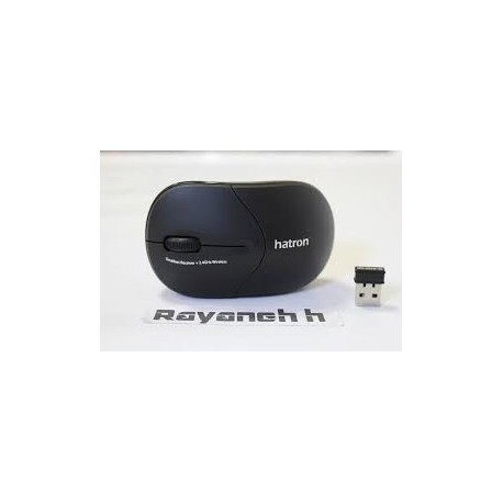 Hatron HMW110BK Wireless Optical Mouse