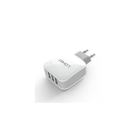 LDNIO Triple USB Travel Charger 3.4A AC70
