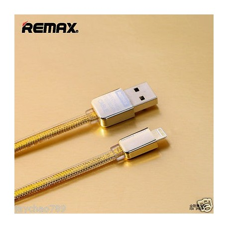 Remax Gold 100cm Data Cable For IOS