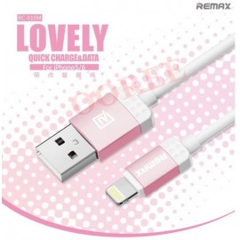 Remax RC-010i LOVELY Quick Charge & Data Cable For IOS