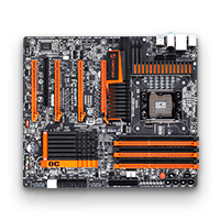 Stock Motherboard